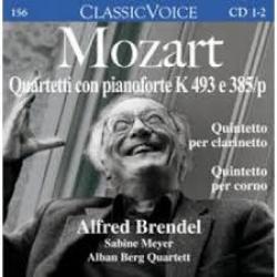 Quartetti con pianoforte K 493 e 385/p
