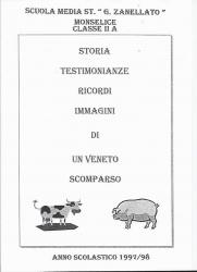 Storia, testimonianze, ricordi, immagini di un Veneto scomparso