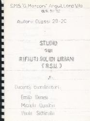 Studio sui rifiuti solidi urbani (R.S.U)