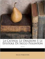 La Catinia: le orazioni e le epistole di Sicco Polenton