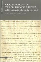 Giovanni Brunacci tra erudizione e storia