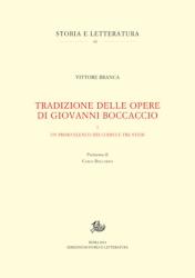 Tradizione delle opere di Giovanni Boccaccio