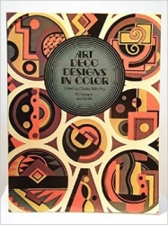 Art deco designs in color