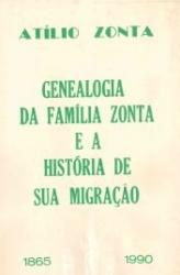Genealogia da familia Zonta e historia de sua migraçao