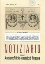 Notiziario della Associazione filatelico-numismatica di Montagnana