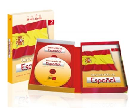 Bienvenido al español : corso di spagnolo multimediale. 9-12: Intermedio 1