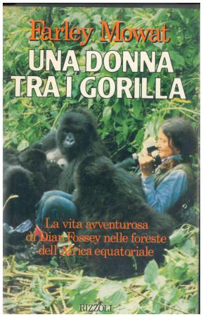 Una donna tra i gorilla
