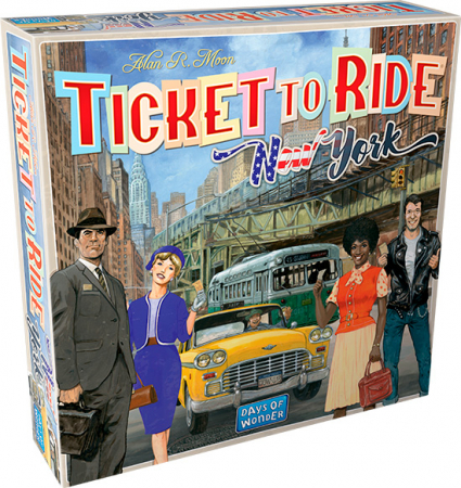 Ticket to ride New York/ Alan R. Moon