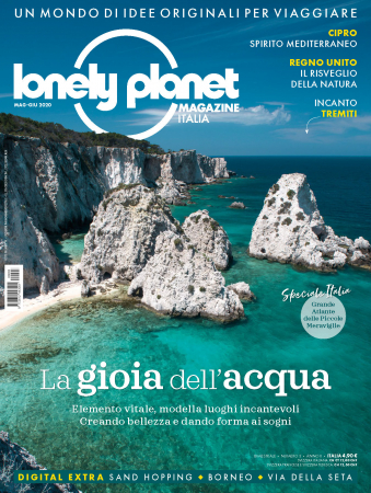 Lonely planet magazine Italia