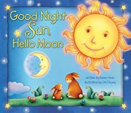 Good night sun, hello moon