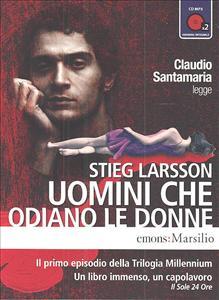 Claudio Santamaria legge Uomini che odiano le donne